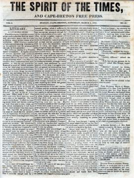 Spirit of the Times March 8, 1845