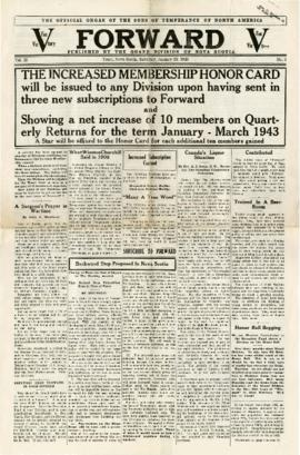 Forward January 23, 1943