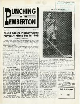 Punching with Pemberton March 1961