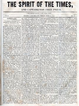 Spirit of the Times June 14, 1844