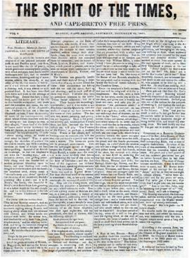 Spirit of the Times December 21, 1844