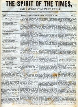 Spirit of the Times December 26, 1843
