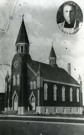 St. Mary's Polish Church, Postcard