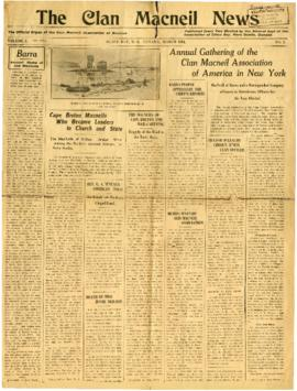 The Clan Macneil News March 1929