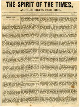 Spirit of the Times March 29, 1845
