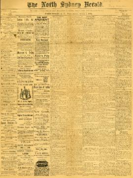 The North Sydney Herald April 6, 1892