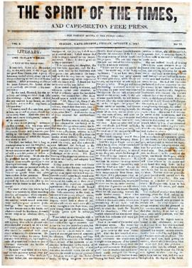 Spirit of the Times October 4, 1844