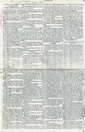 The Cape Breton News September 7, 1850