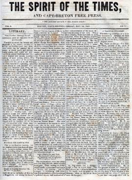 Spirit of the Times May 24, 1844