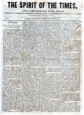 Spirit of the Times October 25, 1844