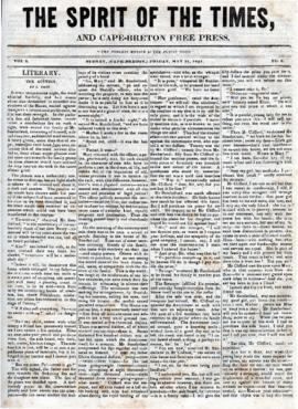 Spirit of the Times May 31, 1844