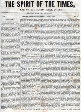 Spirit of the Times June 7, 1844