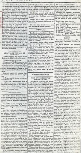 The Cape Breton News November 2, 1850