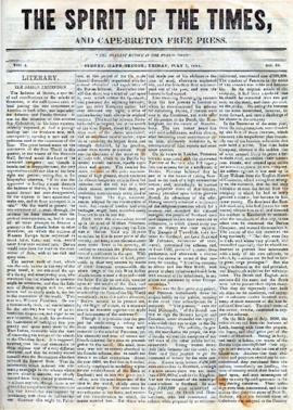 Spirit of the Times July 5, 1844