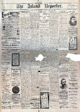 The Island Reporter April 22, 1896