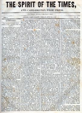 Spirit of the Times July 26, 1844