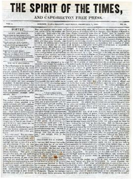 Spirit of the Times February 8, 1845