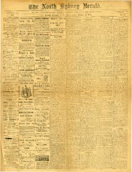 The North Sydney Herald March 30, 1892