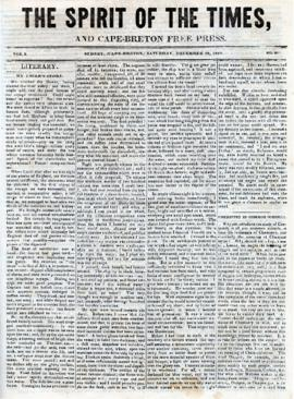 Spirit of the Times December 28, 1844