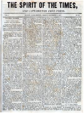 Spirit of the Times December 6, 1844