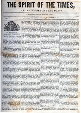 Spirit of the Times September 27, 1844