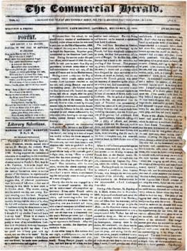 The Commercial Herald December 16, 1849