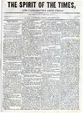 Spirit of the Times October 18, 1844