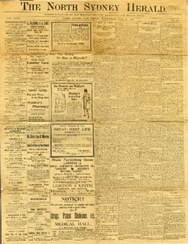The North Sydney Herald May 25, 1898
