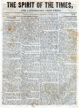 Spirit of the Times January 4, 1845