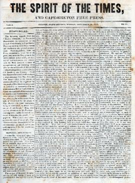 Spirit of the Times November 15, 1844