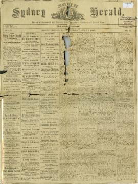 The North Sydney Herald July 7, 1880