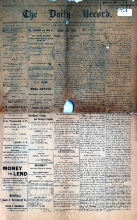 The Daily Record August 16, 1899