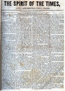 Spirit of the Times January 2, 1843