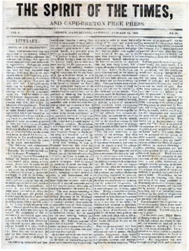 Spirit of the Times January 11, 1845