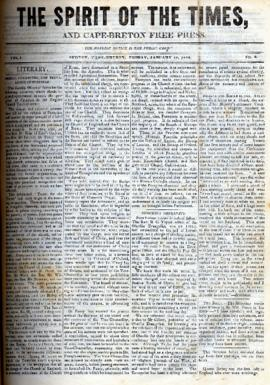 Spirit of the Times January 19, 1844