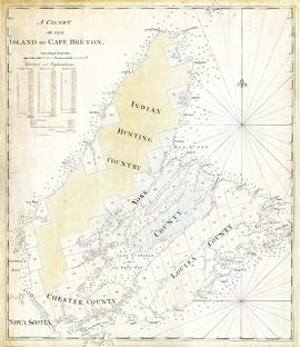 A chart of the Island of Cape Breton