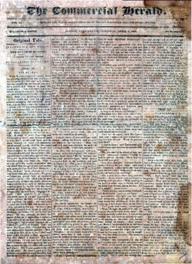 The Commercial Herald April 6, 1850